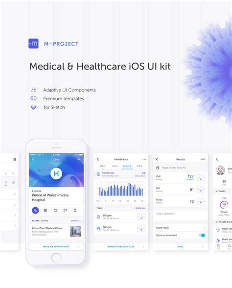 Tutorial Design Youtube App Ui Ux Sketch3 Swift | medical healthcare ios ui kit on wacom gallery