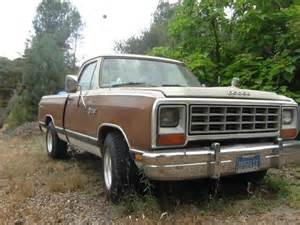 sell used 84 dodge prospector in coarsegold