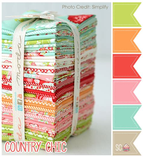 country color palette inspire sweetness country chic color palette