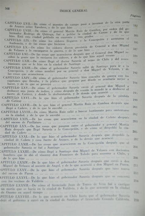 preguntas y respuestas historia de chile cronica reino de chile historia indios araucanos espa 241 oles