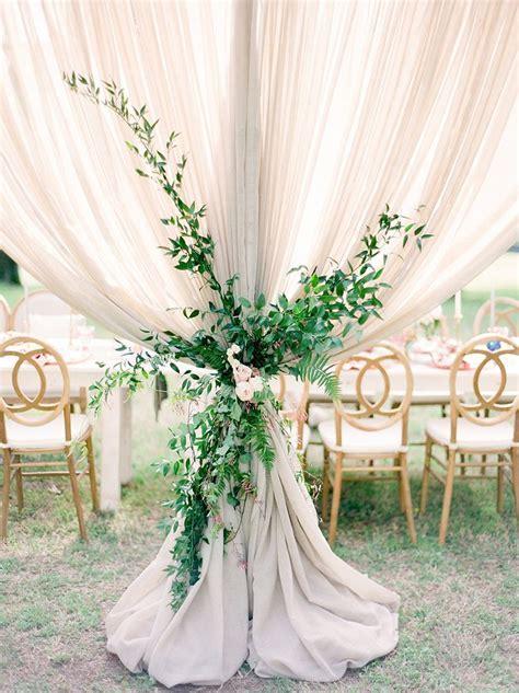 Summer Castle Soiree Wedding Inspiration   Greenery