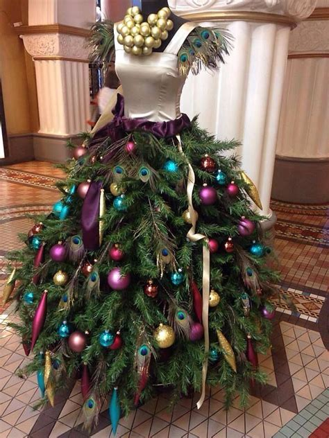 christmas tree skirt on mannequin from bohemian spirit