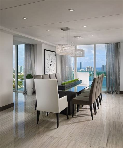 contemporary dining rooms modern dining room