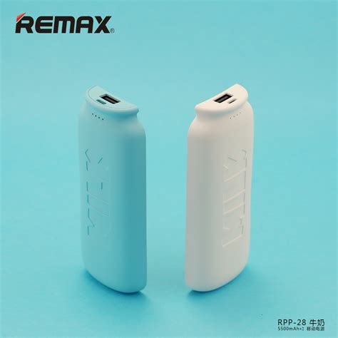Power Bank Unik remax power bank bottle series 5500x2mah rpp 28 yellow with white side