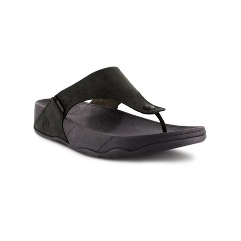Fitflop Nubuck 1 fitflop trakk black nubuck sandal fitflop from crichton shoes uk