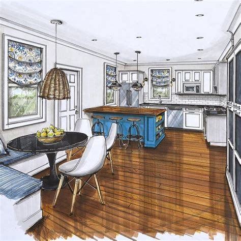 interior drawing images  pinterest interior