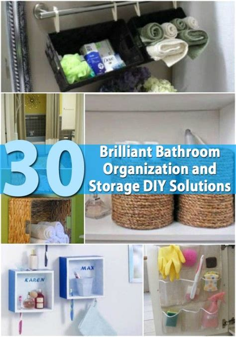 312 Best Images About Organizing Projects On Pinterest Diy Bathroom Storage Solutions