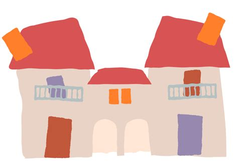 bytes crooked houses clipart crooked house 5