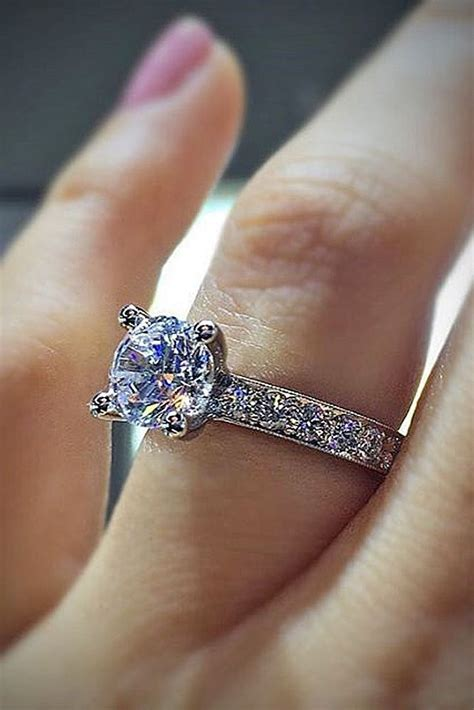 69 most popular and trendy engagement rings for