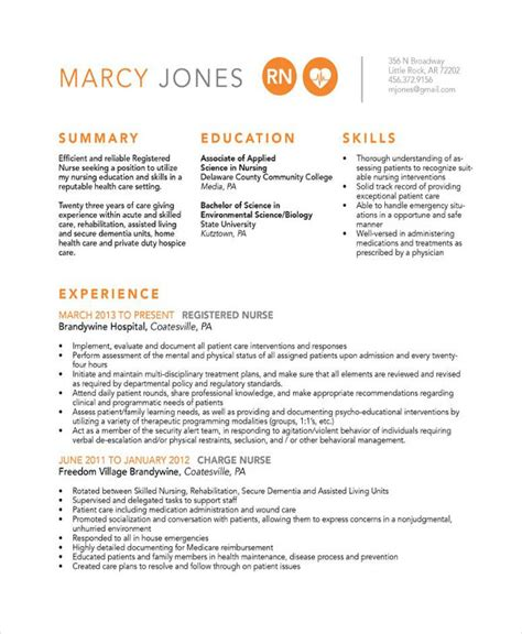 Resume Templates For Experienced Nurses Resume 11 Free Word Pdf Documents Free Premium Templates