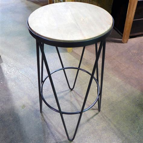 bar stools in chicago iron round bar stool nadeau chicago