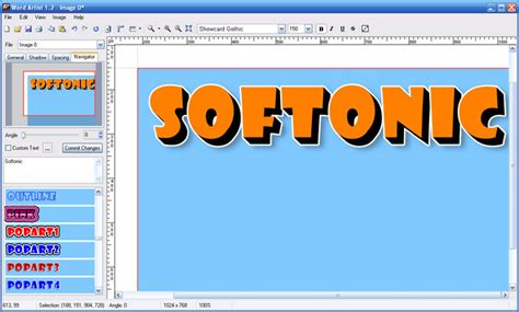word layout software word artist download