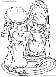 rainbow brite color coloring pages kids cartoon characters coloring pages