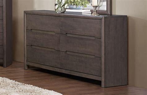 Weathered Grey Dresser by Homelegance Lavinia Dresser Weathered Grey 1806 5