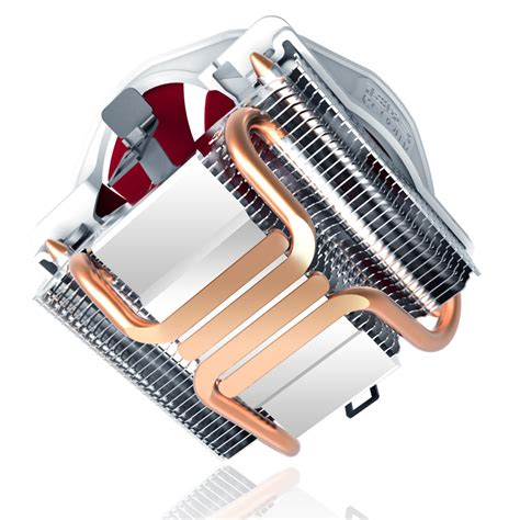 pccooler v6 four copper heatpipes 120mm 4 pin cpu cooling
