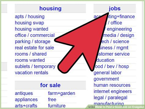 Craigslist Resumes Job Wanted by How To Find A Good Job On Craigslist 7 Steps With Pictures