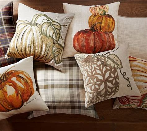 Pottery Barn Pumpkin Pillow by Market Pumpkin Indoor Outdoor Pillow Pottery Barn