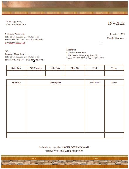 Apple Pages Invoice Template Free Denryoku Info Pages Invoice Template