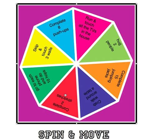 8 adapted mini pe lessons move your body everyday print this for free spin move
