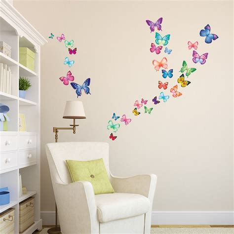 Butterfly Wall Decals For Nursery 25 Best Ideas About Butterfly Wall On 3d Butterfly Wall Decor Butterfly Wall Decor