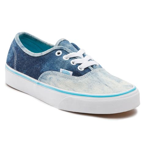 Vans Authentic Denim vans authentic acid denim blue snowboard zezula