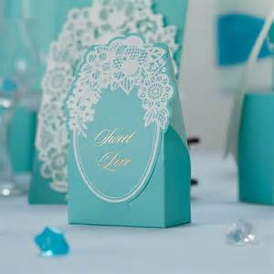 Blue Wedding Favors by How To Plan A Blue Theme Wedding