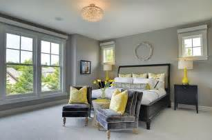 Nightstand Modern Cheerful Sophistication 25 Elegant Gray And Yellow Bedrooms