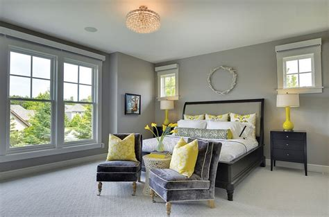 gray yellow bedroom cheerful sophistication 25 elegant gray and yellow bedrooms