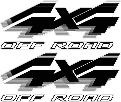 Ford 4x4 Decals by Ford Truck Stickers Ebay Autos Post