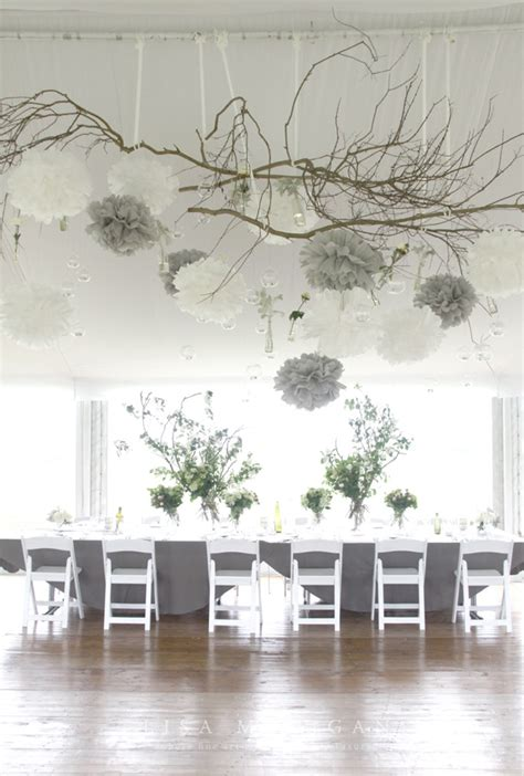 Twigs Chandelier Hanging Wedding Decorations Part 3 Belle The Magazine