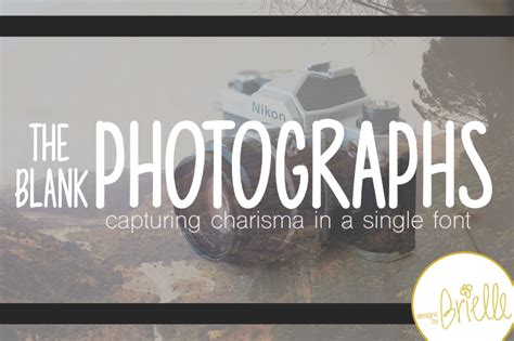 Photography Fonts