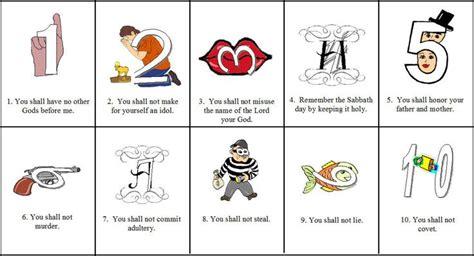 ten commandments for crafts the world s catalog of ideas