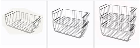 Shelf Basket Wrap Rack by Huji Home Products Huji Shelf Kitchen Storage