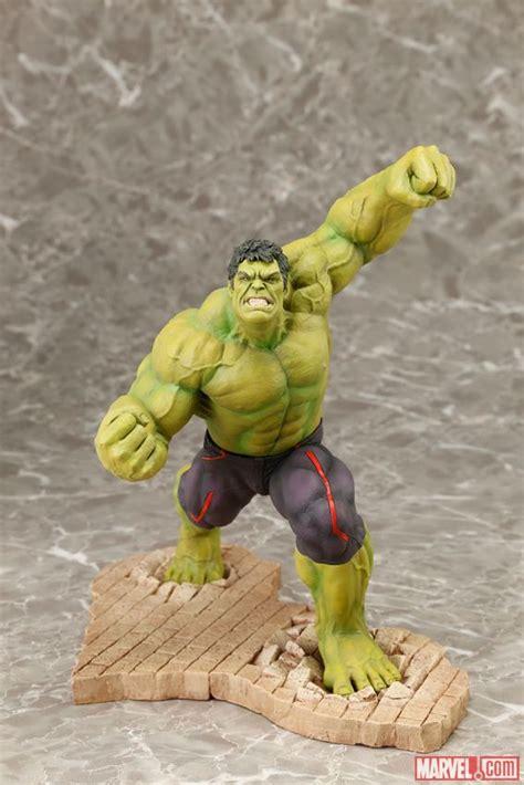 Original Kotobukiya Vs Hulkbuster Set kotobukiya reveals hulkbuster versus statue iron helmet shop
