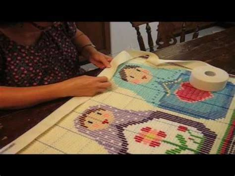 how to bind a latch hook rug how to bind your latch hook rug