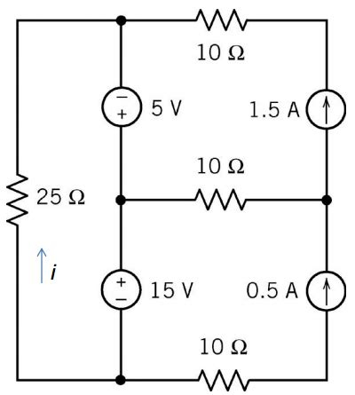 a 5 0 ohm resistor has a current of 2 0 s through it what is the voltage across it finding current in the 25 ohm resistor physics forums the fusion of science and community