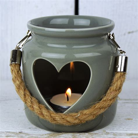 pot tealight satchville gift co ceramic candle holder