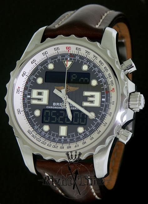 breitling chronospace a78365 f551 pre owned mens watches