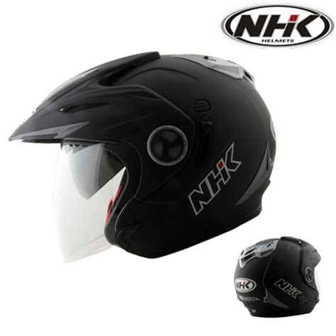 Helm Nhk Tengkorak helm nhk aviator solid pabrikhelm jual helm murah