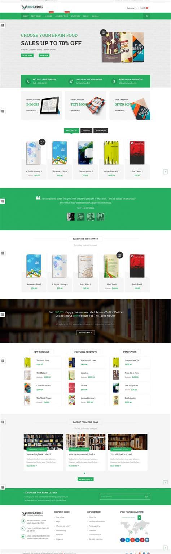 Bookstore Responsive Joomla Ecommerce Template Joomlabuff Ecommerce Requirements Document Template