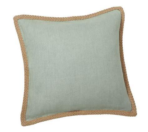 Jute Pillow by Jute Braid Pillow Cover Pottery Barn Diy Home Decor