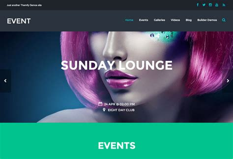 isotope layout event event responsive theme for bands nightclubs