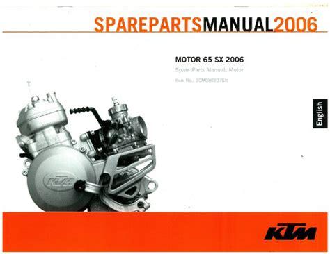 Ktm 65 Sx Repair Manual Ktm Sx 65 Repair Manual 2017 Ototrends Net