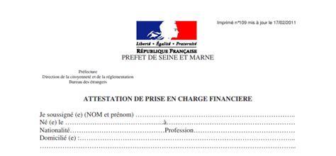 Lettre De Garantie Financiere Visa Visa S 233 Jour Etudiant Cus Maroc Attestation De Prise En Charge