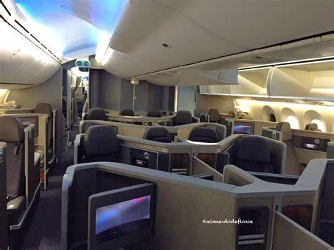 cabina ejecutiva avianca el boeing 787 dreamliner de american airlines que utiliza