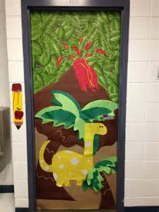Dinosaur classroom door   Classroom   Bulletin Board Ideas   Pinterest