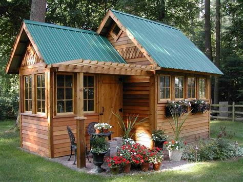 Backyard Cabin Ideas Gardening Landscaping Backyard Cabin Plans Small Backyard Cabin Plans Small Backyard
