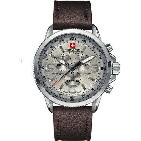 Swiss Army Brown Cover Angka White 6 4224 04 030 mens swiss watches2u