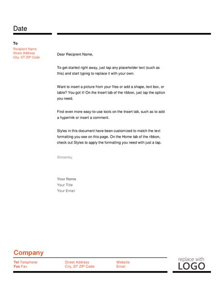 layoff letter template letter template printable