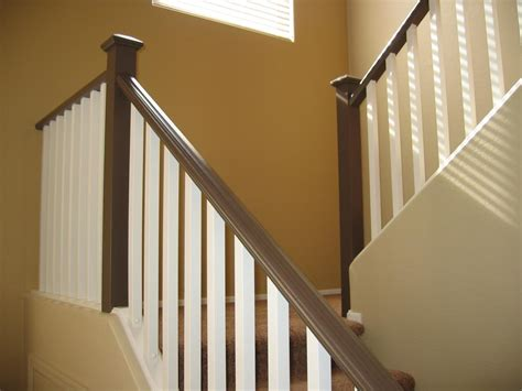 banister wood color eclipse painting photo gallery misc